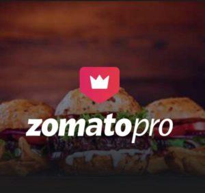 Zomato Pro Gift 3 Months Membership Free