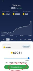 Withdraw IND Coins Stock Money In Bank