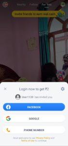 mx takatak App referral code