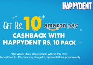 Happydent Amazon Offer Codes