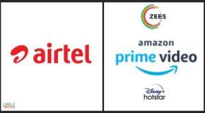 Airtel Prepaid Plans With OTT Subscriptions