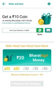 Bharat Agri App Refer Earn Free PayTM Cash