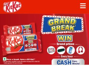 Kitkat Grand Break Contest Offer