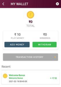 Jeeto10 App Refer Earn