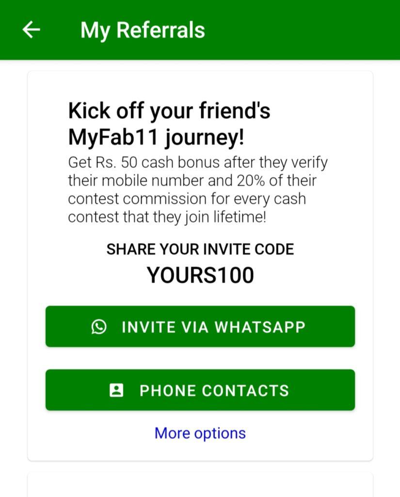 Myfab11 Invite Code