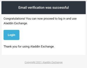 Aladdin25 Refer Earn TNC Tokens