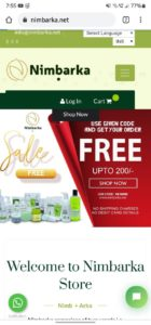Nimbarka Free Shopping Offer