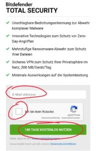Bitdefender Total Security 2021 Premium VPN Free