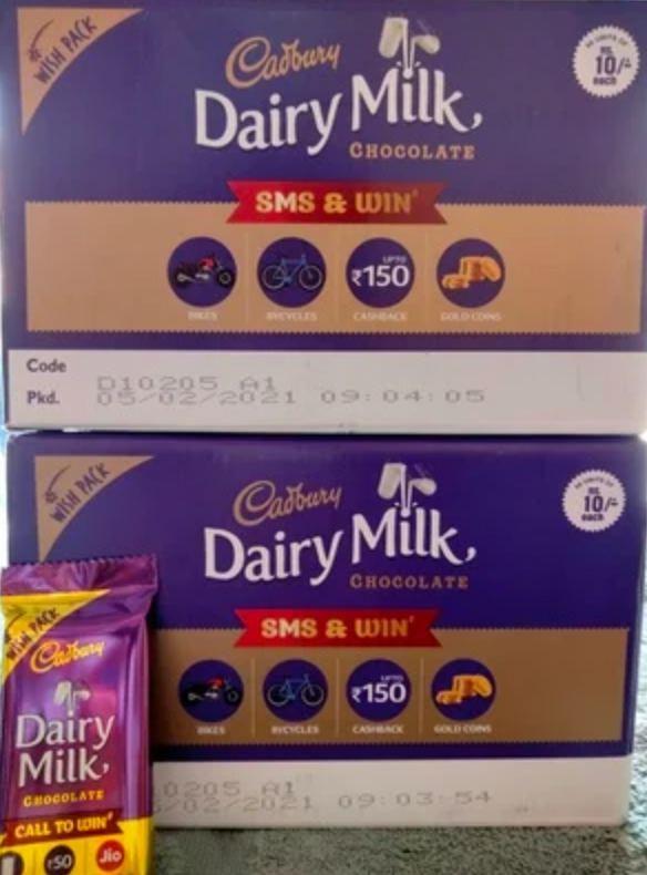 Jio Cadbury Dairy Milk Wish Pack Offer