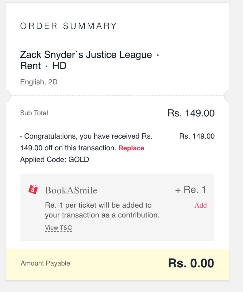 [FREE] BookMyShow Stream Loot - Watch Any Movie For FREE   Worth ₹499