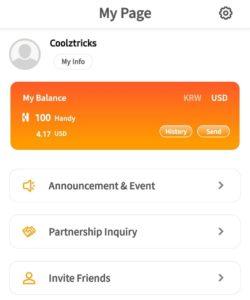 Handy Pick App Referral Code