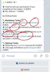 Aurix Exchange offer