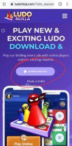 Ludo Ninja App Referral Code