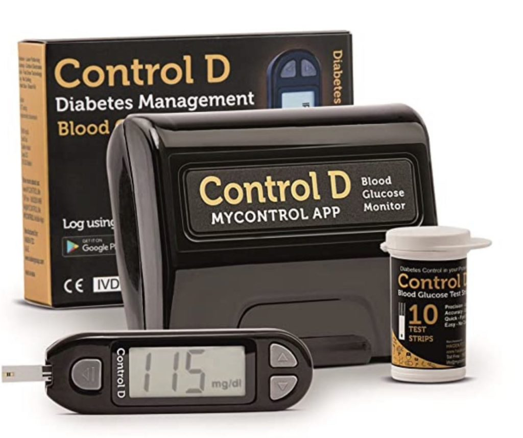 Control D Blood Glucose Monitor Deal