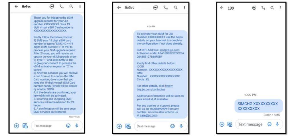 How To Convert Jio Sim to Jio eSIM Online