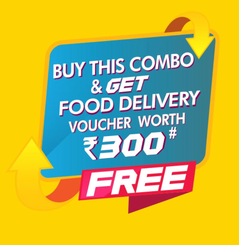 Free Rs.300 Zomato Vouchers With Doritos Lays Party Combo