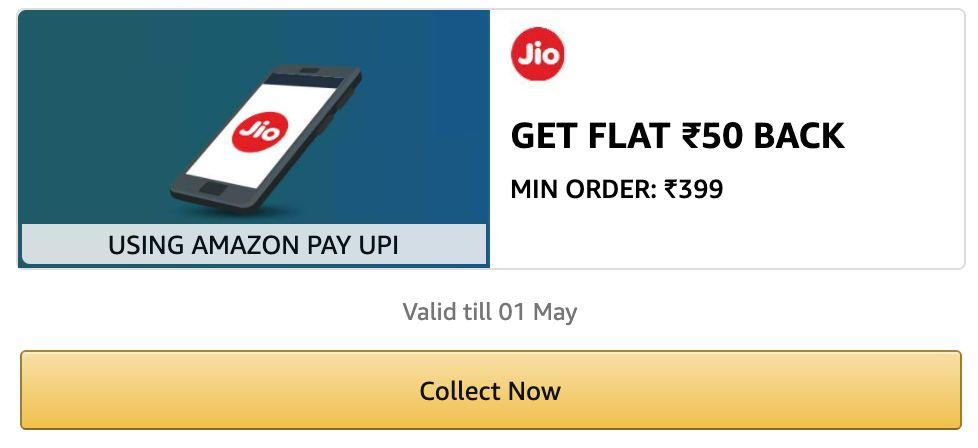 Amazon Jio Recharge Offer
