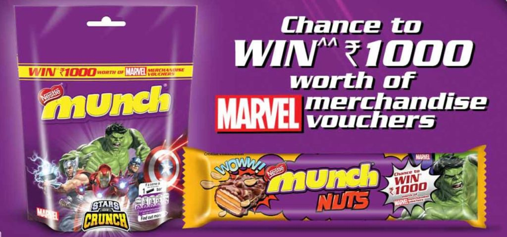 Woohoo MUNCH NUTS Offer