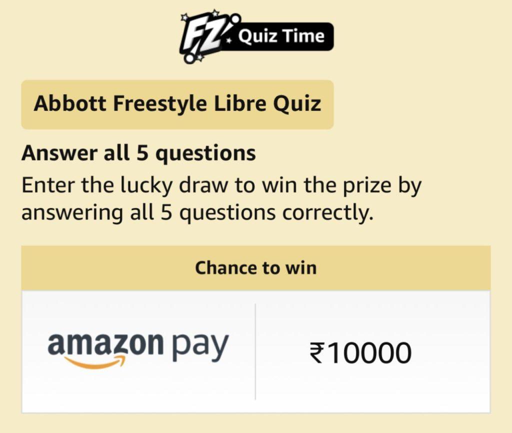 Amazon Abbott Freestyle Libre Quiz Answers