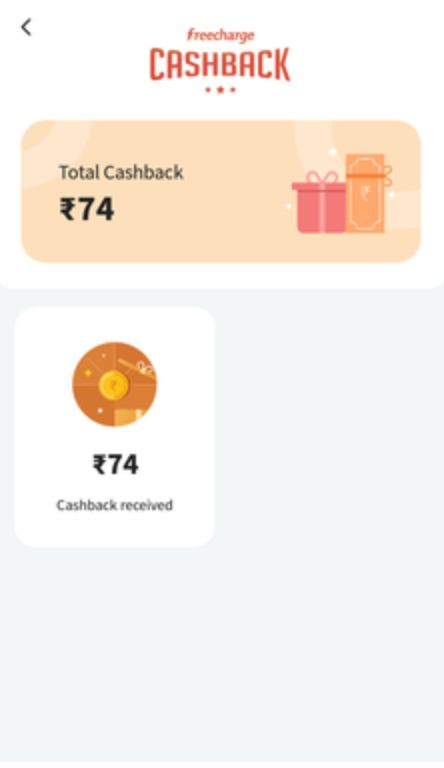 Freecharge Recharge cashback Offer