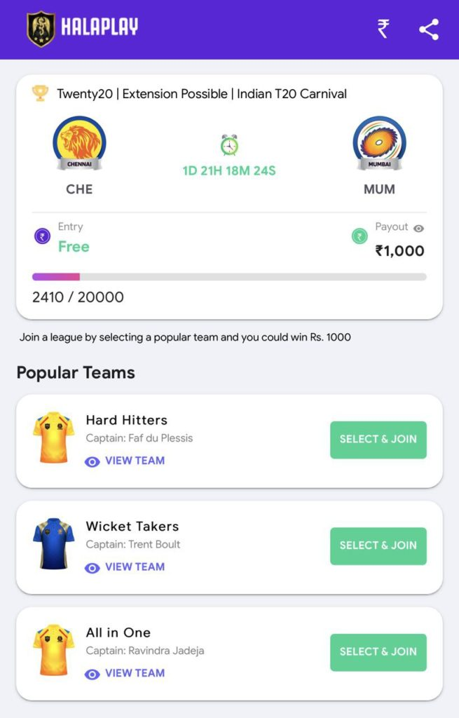 HalaPlay Referral Code Offers