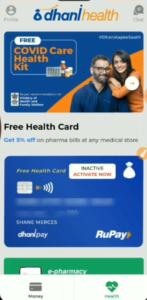Dhani COVID-19 Health Care Kit Free