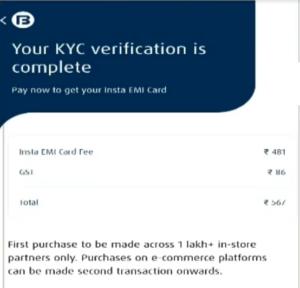 Get Bajaj Finserv Insta EMI Card