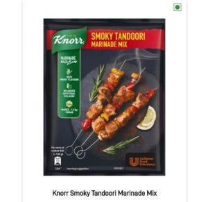 Knorr Masala Mix Free Sample