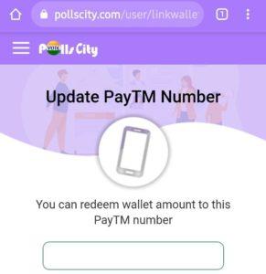 Pollscity Refer Earn Free PayTM Cash