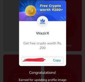 MyAirtel App Wazirx Token Offer