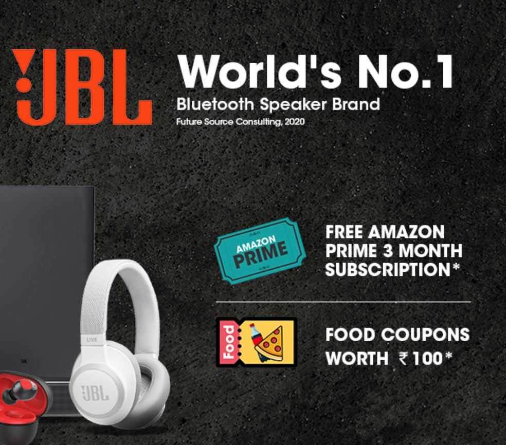JBL Amazon Prime Offer