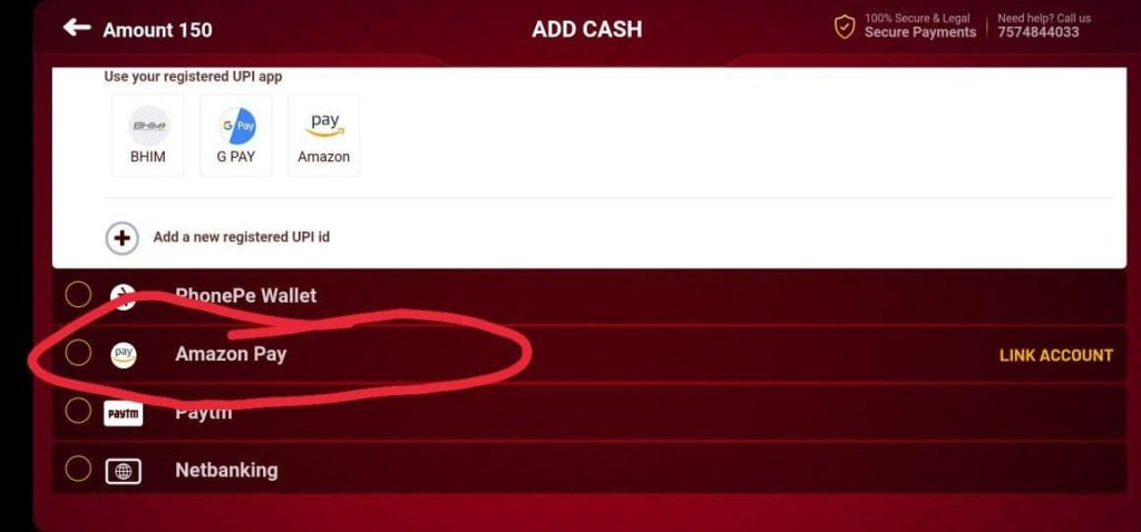 Amazon Pay Rummy Culture Offer