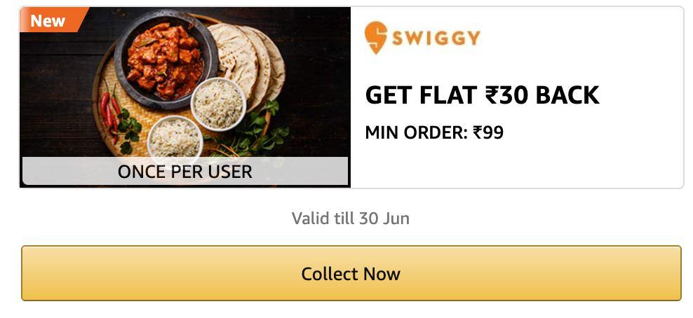 Amazon Swiggy Offer