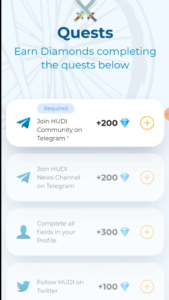 Complete Tasks & Earn Unlimited HUDI Tokens