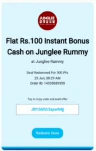 Junglee Rummy Referral Code
