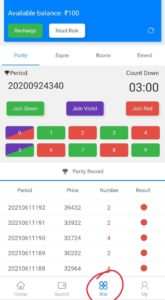 MantriMalls Parity Color Prediction Game