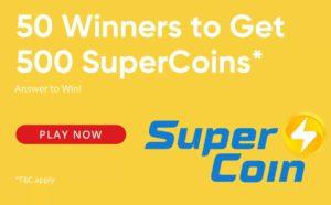 Free Flipkart Supercoins