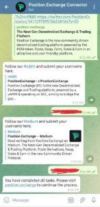 Position Exchange Airdrop
