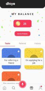 Dhiyo App Refer Earn Free PayTM Cash
