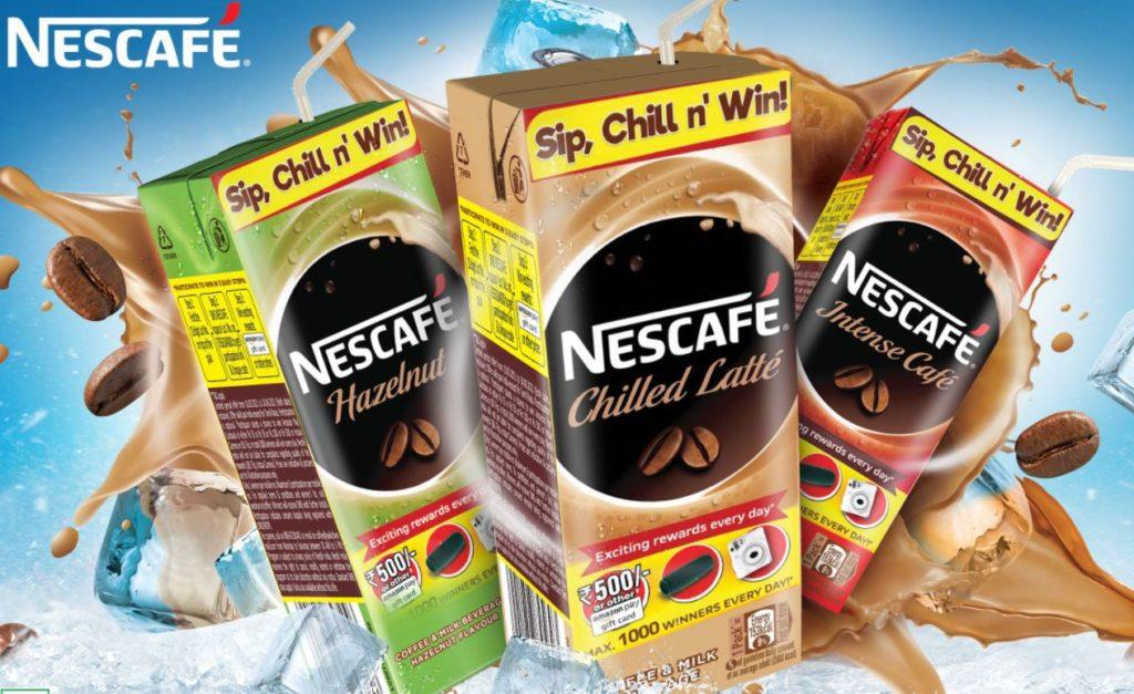 Nescafe Loot Offer - Win Upto ₹500 Amazon Voucher , Camera, JBL Flip   LOT Code Added