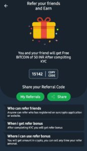 Sun Crypto App Refer Earn