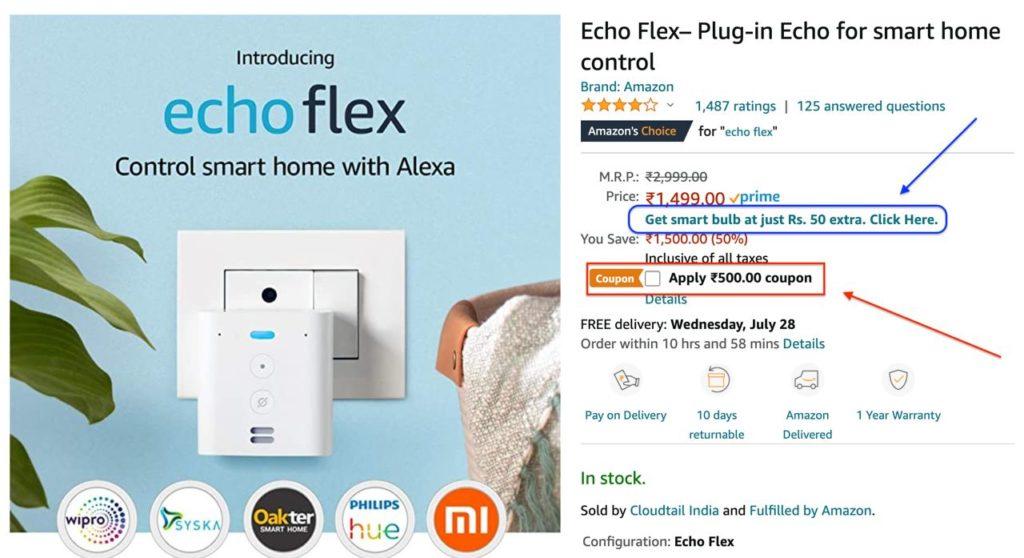 Amazon Smart Flex Deal