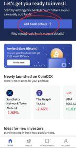 CoinDCX Go Refer Earn