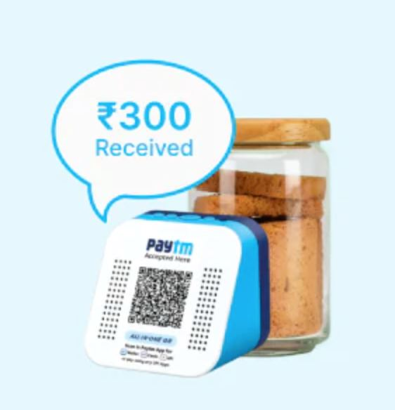 Order PayTM Soundbox For FREE