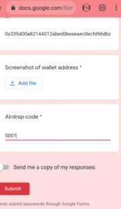 SONE Wallet Airdrop