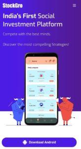 Stock Gro App Refer Earn