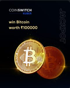 CRED Jackpot CoinSwitch Kuber Loot