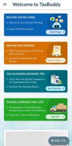 TaxBuddy App Refer Earn