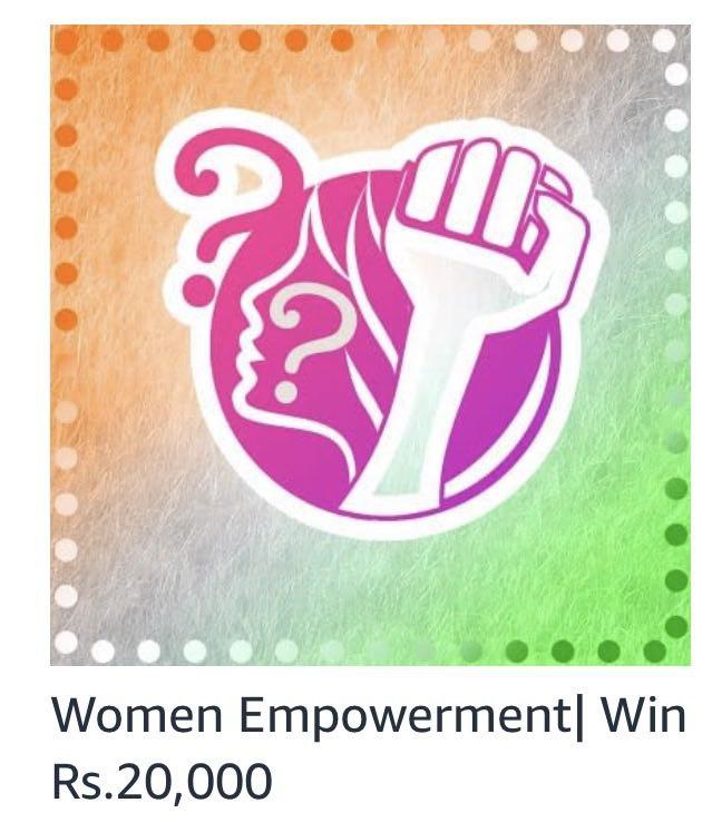 Amazon Women Empowerment Quiz Answers