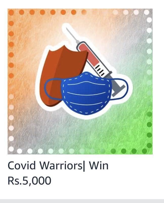 Amazon Covid Warriors Quiz Answers